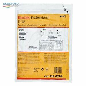 KODAK D-76 Pulver für 3,8 Liter (EUR 2,62/l)