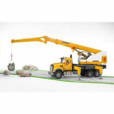 Bruder 02818 MACK Granite Leibherr Crane Truck 1:16 Scale 2818 Boys Age 4+ NEW