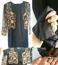 Salwar kameez partywear saree black kurti kurta Pakistani prom indian