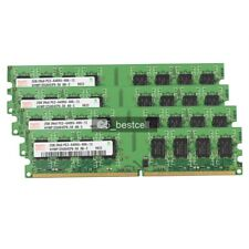 NEW Hynix 8GB 4X2GB PC6400 DDR2-800MHz PC2-6400 240PIN Dual Channel Desktop Ram
