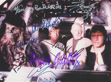 STAR WARS CAST X8 SIGNED AUTOGRAPHED 10X8 REPRO PHOTO PRINT ALEC FORD MARK