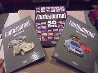 l'Auto Journal 50 ans ( Renault Peugeot Citroen Panhard Simca Mercedes Bmw VW