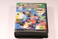 SEGA MEGA DRIVE GAME -- MICRO MACHINES -- BY CODEMASTERS -- 1993