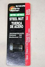 BLF-53C Metric Steel  6mm Brake Line Nut 14mm x 1.5 Thread FREE SHIPPING