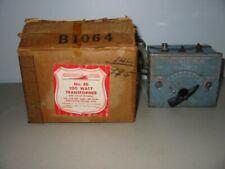 VINTAGE AMERICAN FLYER TRANSFORMER NO. 4B 100 WATT WITH ORIGINAL BOX