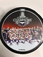 Capitals 2018 Stanley Cup Champions Team Photo & Champs NHL Hockey Puck Set Of 2