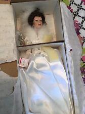 ASHTON DRAKE COLLECTOR'S BRIDE DOLL Winter Romance .