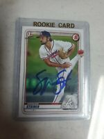 Spencer Strider Auto Signed Autographed 2020 Bowman Draft Braves Top Prospect RC