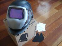 3M Speedglas 9100XXSW Darkening Welding Helmet w/Side Windows,Hornell Speedglass