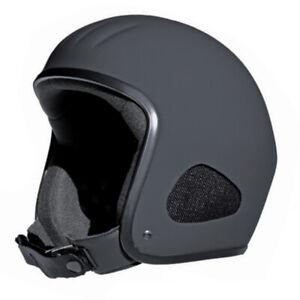 Kulthelm TITAN Jet-Helm Chopper Harley Open Face Matt Doppel-D Verschluss  L