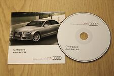 Genuine AUDI A4 S4 Onboard CD Disco Manual Manual 152.565.8K0.88