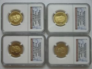 2010  SET  OF  ,,4 ''  NGC  PF - 69 ,, PROOF  ULTRA  CAMEO '' ,,PRESIDENTIAL''