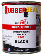 Rubberseal Liquid Rubber Waterproofing and Protective Coating - Roll On 16 oz