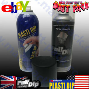 Gloss BLACK PLASTI DIP® kit