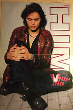 1 german poster HIM VILLE VALO NOT SHIRTLESS ROCK BOY BAND BOYS TEEN IDOL BRAVO