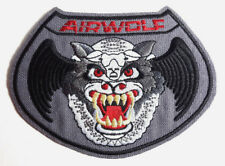"Airwolf TV Series ""Wolf"" Logo 4.75"" DELUXE Patch- Mailed from USA (AWPA-Wolf)"