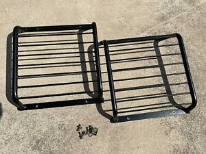 Land Rover DEFENDER 90 110 130 front lamp guards