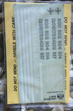 HERALD KING DECALS HO Scale Boston And Maine Blue Diesel Hood Unit 12-77
