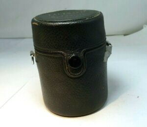 "Pentax Takumar Hard lens case 2.5X3.5"" for M42 105mm f2.8 lens"