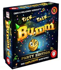 Piatnik 648366 Tick Tack Bumm Party Edition Kartenspiel