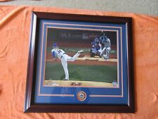 Noah Syndergaard Signed 2015 WS Game 3 1st Pitch 16x20 Photo Framed Steiner COA