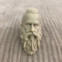 Free Shipping 1/6 scale Vikings blank Head Sculpt unpainted strong man