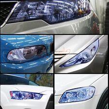 Blue Tint Sticker Auto Car Smoke Fog Light Headlight Taillight Vinyl Sheet Film