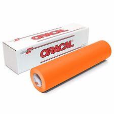 ORACAL 651 Outdoor Permanent Vinyl - PASTEL ORANGE 12in x 10ft Roll