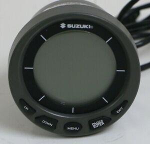 "Genuine Suzuki 4"" SMIS Digital Multifunction Gauge # 990C0-88165"