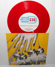 "FAKE PROBLEMS viking wizard eyes full of lies 3 song ep 7"" Record RED Vinyl"