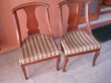 Coppia di antiche sedie a gondola Pair of antique gondola chairs da restaurare