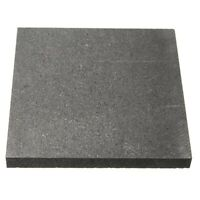 100X100X10Mm 99,9 % Plaque Rectangle D'éLectrode en Bloc de Graphite Pur Q6O8