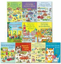 Richard Scarrys Best Collection Ever 10 Books Set PB