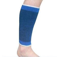 Coppia fascia elastica supporto per polpaccio o braccia anallergico lavabile