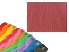 CYBERLOXSHOP PHANTASIA KANEKALON JUMBO BRAID FRENCH ROSE RED HAIR DREADS