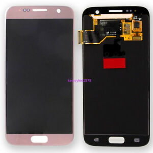 For Samsung Galaxy S7 G930 G930F LCD Display Touch screen Digitizer Rose Gold
