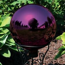 Sunnydaze Merlot Mirrored Surface Glass Outdoor Garden Gazing Ball Globe - 10""