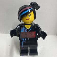 Wild Style Alarm Clock Lego Movie Used and Works And Lights Up