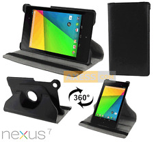 Etui Folio Rabattable ROTATIVE CASE 360° Noir pour ASUS Nexus 7 (2013) - ME571KL