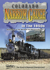 Colorado Narrow Gauge in the 1950s DVD Pentrex NEW