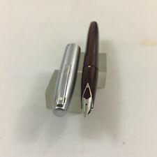 Sheaffer Imperial 440 Cepillo de acero cordobés Marrón fp acero fino nuevo en Caja Nuevo