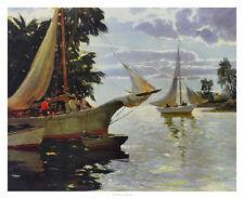 Anthony Thieme In The Bahamas Poster Kunstdruck Bild 66x81cm - Portofrei