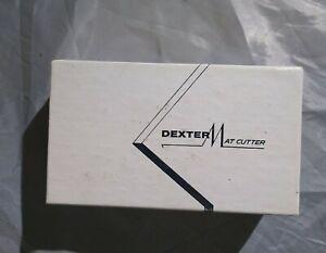 Vtg Dexter picture framing mat cutter No. 3 new, blade, manual, excellent 🆓 🚢