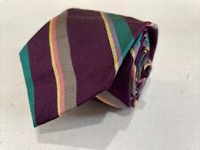 Polo Ralph Lauren Men's Purple Striped Silk Neck Tie $78