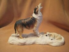 Vintage Schmid Bfa Lowell Davis Limited Edition Winter Lamb Figurine
