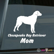Chesapeake Bay Retriever Mom Sticker Die Cut Vinyl - chessie cbr