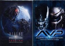 Inkworks Alien V Predator & Requiem Complete Base Sets 180 Cards In Total SALE