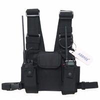 Pocket Chest Pack Bag Harness for Motorola Baofeng UV-5R UV-82 Two Way Radio