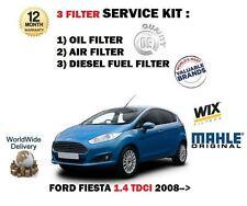 Per FORD FIESTA 1.4 TDCi F6JB 2009 - > KIT Di Servizio Aria Olio Filtro Carburante (3) KIT