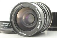 [TOP MINT] Mamiya N 65mm f4 L MF Lens For Mamiya 7 II Hood From JAPAN